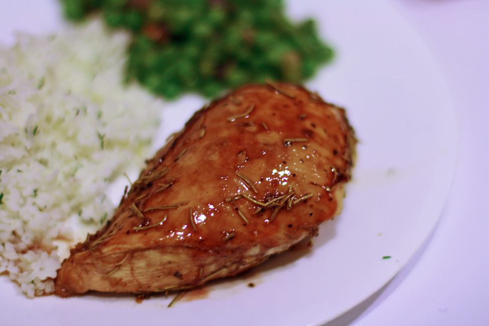 Pomegranate Glazed Chicken | The Adventures of an Epic Baker